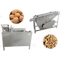 Quality Automatic Black Walnut Cracking Machine Shelling Line Stainless Steel for sale
