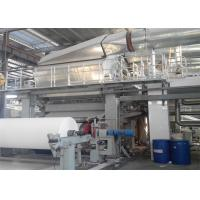 China Single Wire Tissue Paper Making Machine Toilet Roll Manufacturing Machine on sale
