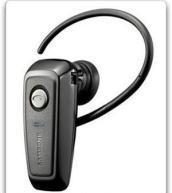 Samsung WEP200 Bluetooth Wireless Phones Headset (Black)