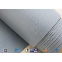 Quality 0.25mm 280g Waterproof PVC Coated Fiberglass Fabric Cloth For Flexible Fabric Duct for sale