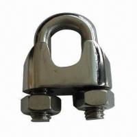 Quality Rigging Hardware, Stainless Steel Wire Rope Clip, DIN741, Casting for sale