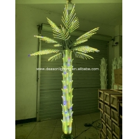 Buy cheap color changing led palm tree light from wholesalers