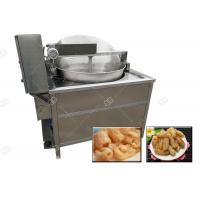 Quality Fully Automatic Pig Skin Frying Machine Electric Heating Pork Rinds Fryer Machine for sale