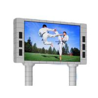 China P6 P8 P10 HD Outdoor Waterproof Led Advertising Screen 1/4 Scan Constant Current on sale