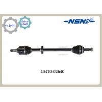 Quality Corolla ZRE120 Automotive Drive Axle 43410-02640 Aluminum Alloy Material for sale