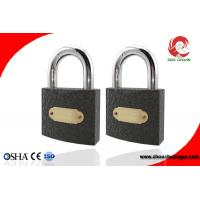 Buy cheap Small Safety Iron Padlock Iron With Steel Shackle Use for Boxes, Door or from wholesalers