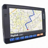 Quality GPS car navigation systems, used in 3D graphic accelerator, support MPEG4/H.263/H.264 coder decoder for sale