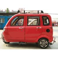 Quality Gear Driving Gasoline Tricycle 200CC Three Wheels With 4 Passenger Seats for sale