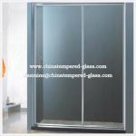 Quality 5mm Frameless Shower Glass Door for sale