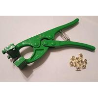 Quality Safety Livestock Tattoo Kit , Sheep Ear Marking Pliers Identification Marking for sale