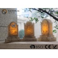 Buy cheap Tombstone Shaped Halloween Led Candles With Color Changing Function from Wholesalers