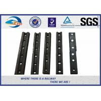 Quality 55# Rail Joint Bar For ASCE / Crane , Steel Angle Bar with holes 4 for sale