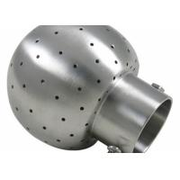 Quality Durable Din 11852 Fittings , Rotating Cip Spray Balls Stainless Steel TP316/1.4404 for sale