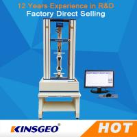 Buy cheap 2KN Leather Tensile Shear Leather Testing Equipment With Micro Computer Display from Wholesalers