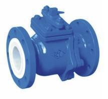 China PTFE lined ball valve on sale
