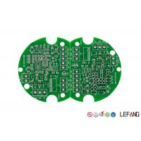 Quality Double Sided HASL FR4 PCB Board Lead Free Green Solder Mask For Consumer Electronics for sale