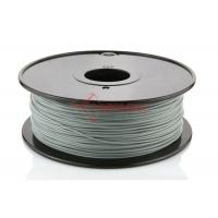 Quality Toughness Silver ABS 1.75 MM Filament Spool With PLA HIPS PVA 3D Filament for sale