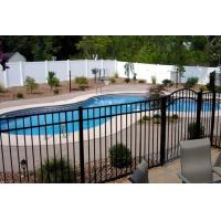 Swimming Pool Perimeter Wire Mesh Security Fencing Curving Top For