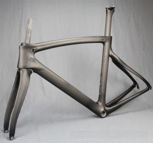 China Full carbon fiber Road Bike Frame , F10 Bicycle Carbon Fiber Hybrid Bike Frameset on sale