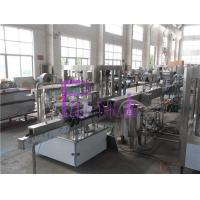 Quality Drink Processing Manual Bottle Labeling Machine For Bottles , Shrinking Tunnel for sale