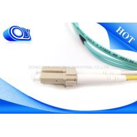 Quality FTTH 2.0 / 3.0mm SM 9/125 um OM3 Fiber Opitc Cable with LC Connector for sale
