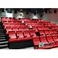 Quality Customized Shopping Mall 4D Movie Theater With Ring Screen / Flat Screen for sale