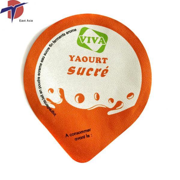 Buy Food Grade Aluminium foil sealing lids for yogurt cup, yogurt cup sealing lids at wholesale prices