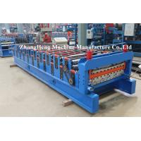 IBR Corrugated Roof Sheeting / Panel Tile Roll Forming Machinery SGS certification