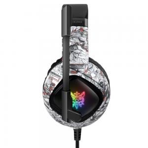 China 3.5mm 117dB Onikuma K19 PC Gaming Headphone With LED Light on sale