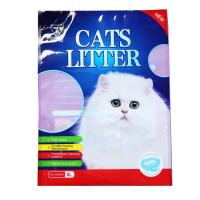 Quality Wholesale Cheap Price Custom Colorful Print 5L 6L 10L Stand Up Plastic Pet Cat Litter Bags for sale