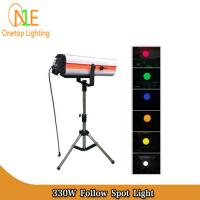 Buy cheap 330W 350W 15R DMX512 Follow Spot Light DJ Stage Lighting Led Effect Light Wedding Light from Wholesalers