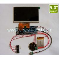 Quality Hot sale 5 inch tft lcd Video greeting card module for DIY advertising video brochure/video book/video business gifts for sale