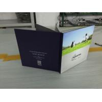 Quality Multi-pages Hard cover paper 7 Inch TFT invitation lcd video greeting card OEM/ODM for Advertising for sale