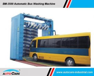 China Automatic Bus Washing system with Three Brushes/ Automated truck wash machine with water recycling systems on sale