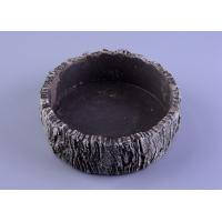 Buy cheap parties material concrete cement candle holder round moss