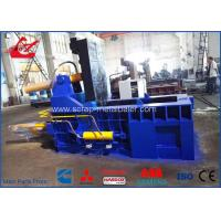 Quality Auto Control Scrap Metal Baler / Hydraulic Scrap Baling Press For Aluminum Waste Steel for sale