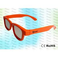 Quality Adult RealD and Master Image Circular polarized 3D glasses with polarized lens for sale