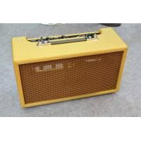 China Tube Guitar Amplifier / Vintage Reissue ′63 Reverb Unit Tank with Ruby Tubes Imported Components in Black (GR-63) on sale