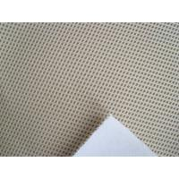Quality High Quality Punched Suede / Scalloped eyelet suede/shoe fabric/suede fabric for sale
