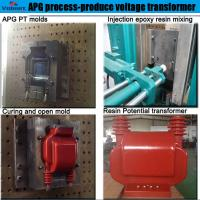 Quality apg clamping machine for apg process for Combination Instrument Transformer for sale