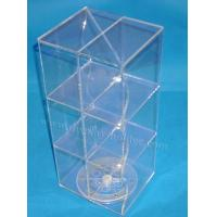 Quality Custom Spinner Rack Countertop Acrylic Display Case for sale
