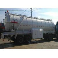 2 Axles Sewer Vacuum Suction Semi Trailer For Off Road And Oil Field Operation 20000L