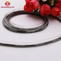 Buy Waterproof plastic logo printed TPU / PVC coated piping trim cord at wholesale prices