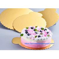 Quality Food Grade White Board With Aluminium Foil For Cake Board/Christmas Decoration for sale
