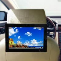 Quality 10.1 inch 3G/4G/wifi touch screen Taxi ad player IPS  digital signage seat back tv for taxi/bus car roof advertising for sale