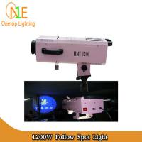 Buy cheap HMI 1200W Follow Spot Light Steady Professional Zooming Stage Lighting from Wholesalers