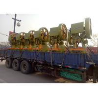 Quality 11 Strips Barbed Wire Manufacturing Machine , Razor Wire Machine Output 50KG/H for sale