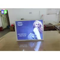 Quality Indoor Aluminum LED Light Box Backlit Advertising Panels For Movie Poster for sale