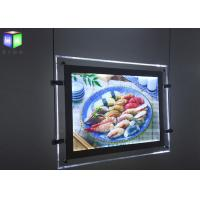 Quality Magnetic Double Sided LED Light Box Advertisment For Menu Board 240 Volt 50 Hz for sale