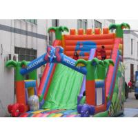 Customized Inflatable Castle Slide CE Certified Children Favourite Playing Game